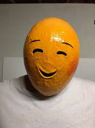 emoji mask 42 best paper mache emoji masks emojimovie images on