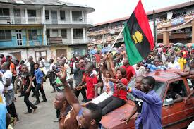 Biafra Flag Photos See How Supporters Of Radio Biafra Boss Nnamdi Kanu