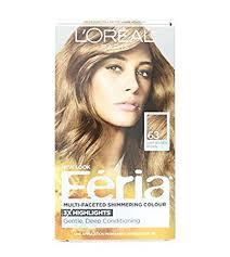 light golden brown hair color amazon com l oreal paris feria multi faceted shimmering color