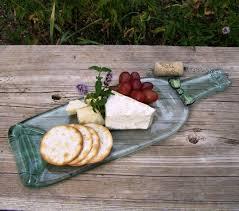 melted wine bottle platter handmade christmas gift ideas for everyone on your list glitter