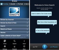 directv app for android phone directv android app updated to version 2 5 enables voice search