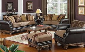 Black Leather Living Room Furniture Sets Living Room Furniture Set With Black Leather Sofa And