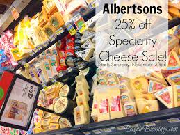 albetsons save 25 gourmet cheese giveaway reminder