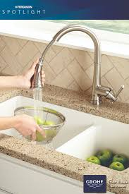 Grohe Ladylux Kitchen Faucet by The Grohe Joliette Dual Spray Pull Down Kitchen Faucet Has A Two