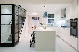 West London Kitchen Design by Pimlico Home Gets Sleek Modern Makeover Nonagon Style