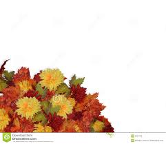 Thanksgiving Leaf Template Thanksgiving Fall Flowers Corner Stock Photos Image 5721753