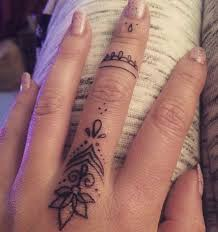 feminine finger tattoos creativefan