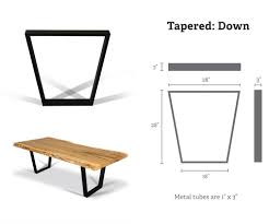 metal base for table tops