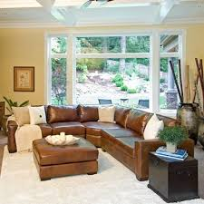captivating rustic leather sectional sofa best ideas about rustic