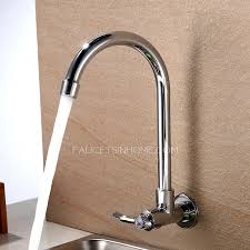 wall mount sink faucet cheap cold water only wall mount kitchen sink faucet sale