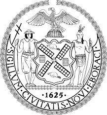 City Of Chicago Flag Meaning Seal Of New York City Wikipedia