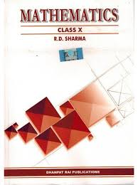 mathematics for class 10th by r d sharma
