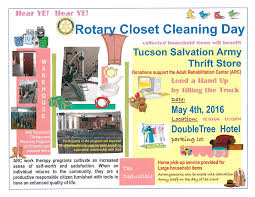 closet cleaning rotary closet cleaning day 5 4 16 rotary club of tucson
