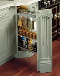 Kitchen Cabinets Spice Rack Pull Out Traditional Kitchen Cabinets Are A Retreat Plain U0026 Fancy Cabinetry