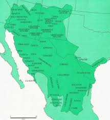 Northern Mexico Map by Mexicans Are Native Americans Illegals Racism Reconquista Usa