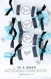 easy wedding favors easy diy party cracker wedding favors frog prince paperie
