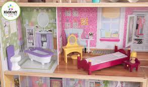 Barbie Dolls House Furniture Decorating Wonderful Kidkraft Majestic Mansion Dollhouse 65252
