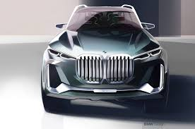 bmw concept 2017 bmw x7 iperformance concept first look motor trend canada