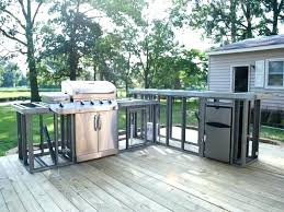 how to build outdoor kitchen cabinets steel stud outdoor kitchen huetour club