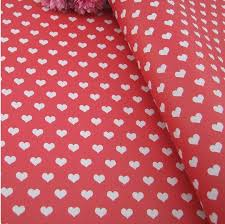 fancy wrapping paper online shop gift wrapping paper 5sheets lot 60g fancy design heart