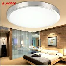 Led Lights For Bedrooms - led ceiling lamp circular aluminum acrylic contracted and