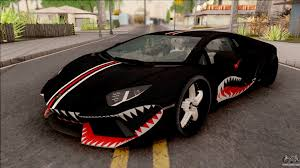 lamborghini aventador purple lamborghini aventador shark new edition black for gta san andreas