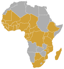 Nigeria Map Africa by Distribution Check How To Receive And Watch Africanews Africanews
