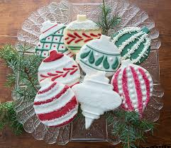 and green ornament cookies india tree