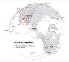 Map Of Guam Right Wing Foundation Scary Nuke Maps Drive Narrative On North