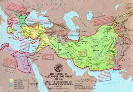 Map Of Ancient Greece Map Of Alexander The Great U0027s Empire Alexander U0027s Empire Map
