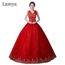 design dresses 2017 new design lace v neck gown wedding dress lamya