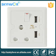 south africa wall multi outlet electric switch and socket