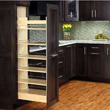 installing pull out drawers in kitchen cabinets rev a shelf tall wood pull out pantry with adjustable pull out