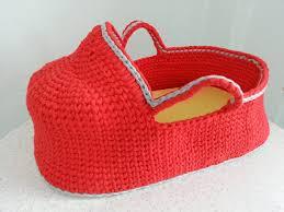 Baby Storage Baskets Crochet Baby Moses Basket Baby Bassinet Crochet Basket Baby
