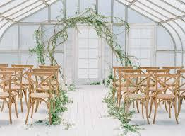 modern indoor garden wedding inspiration pinkous
