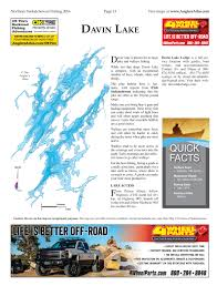 Map Of Saskatchewan Davin Lake Angler U0027s Atlas