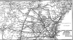 new england central railroad map on line archives boston maine railroad historical society