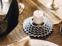 How To Make Home Decorative Things by How To Make Bicycle Gear Votive Holders How Tos Diy
