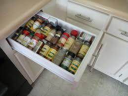Kitchen Spice Rack Ideas Cabinet Kitchen Drawer Spice Organizers Best Ideas About Drawer