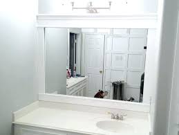 bathroom trim ideas trim bathroom mirror mirror trim molding bathroom mirror trim