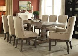 landon rectangular trestle dining table by acme furniture home