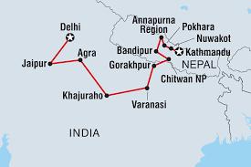 Nepal On World Map by Nepal Tours Treks U0026 Travel Intrepid Travel Us