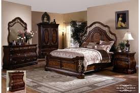 Queen Bedroom Furniture Sets Bedroom Furniture - Dark wood queen bedroom sets
