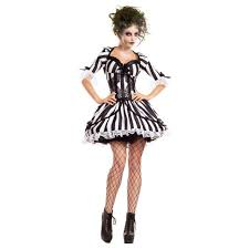beetlejuice costume bug juice beetlejuice black white striped dress womens