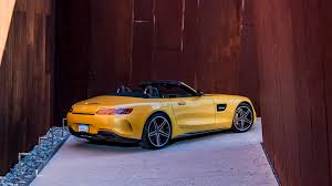 mercedes amg convertible 2018 mercedes amg gt c convertible review with price horsepower