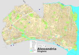 Alexandria On A Map Alexandria Street Map
