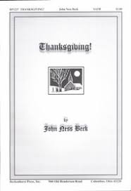 litany of thanksgiving trumpets
