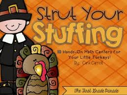 thanksgiving math centers by cara carroll teachers pay teachers