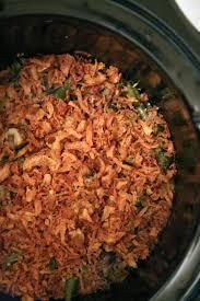 thanksgiving vegetable casseroles slow cooker green bean casserole recipe popsugar food