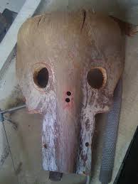 yard waste u003d free halloween costume how to make creepy masks from